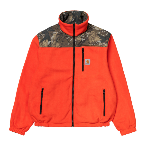 Carhartt Denby Reversible Jacket Camo Combi / Safety Orange