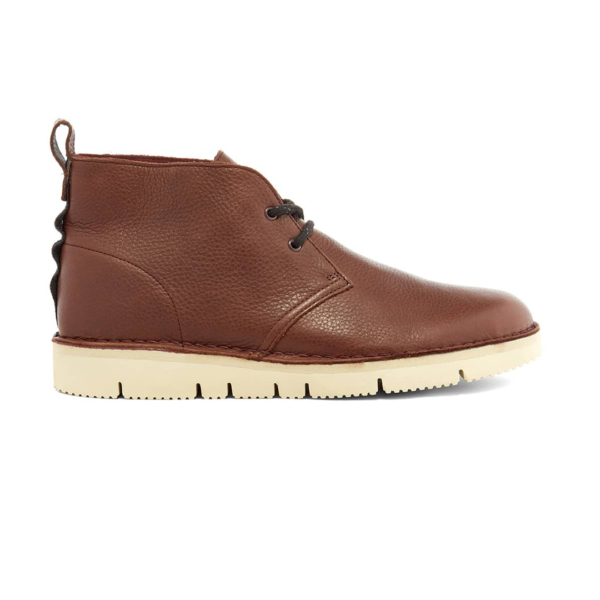 Clarks Originals Leather Desert Boot 2.0 Burgundy