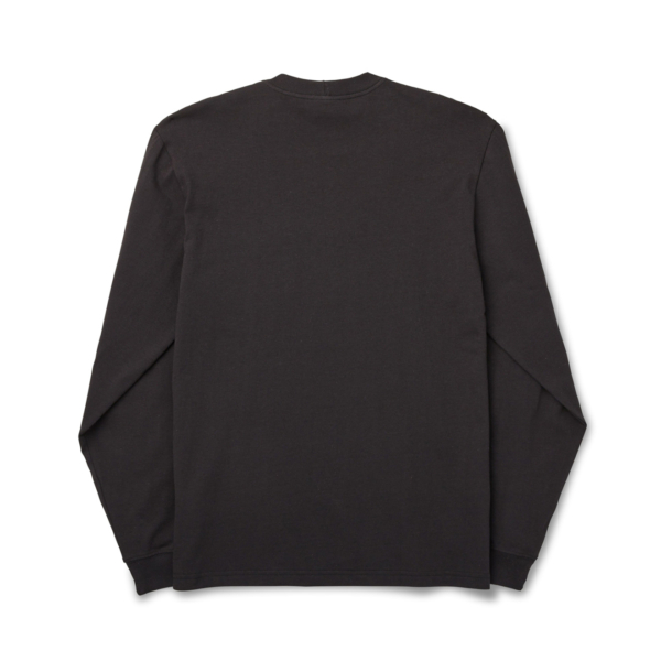 Filson L/S Outfitter One Pocket T-Shirt Faded Black