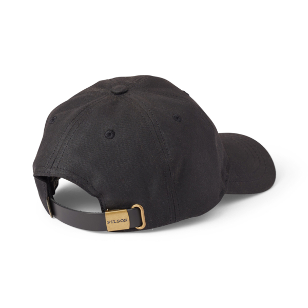 Filson Oil Tin Low Profile Cap Black