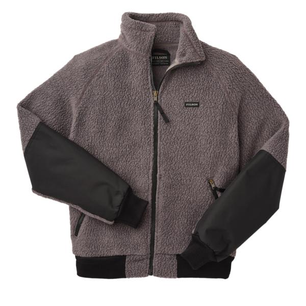 Filson Sherpa Fleece Jacket Charcoal Grey