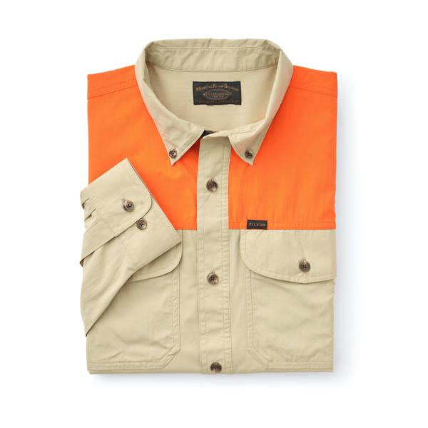 Filson Sportsman L/S Shirt Twill / Blaze