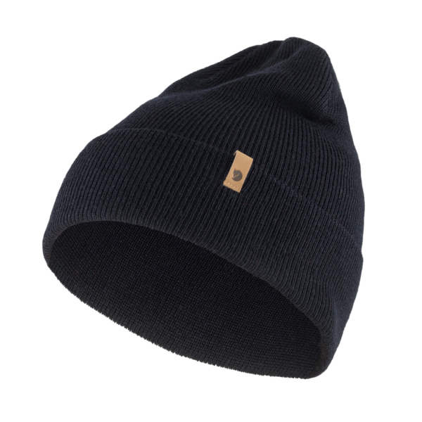 Fjallraven Classic Knit Hat Dark Navy