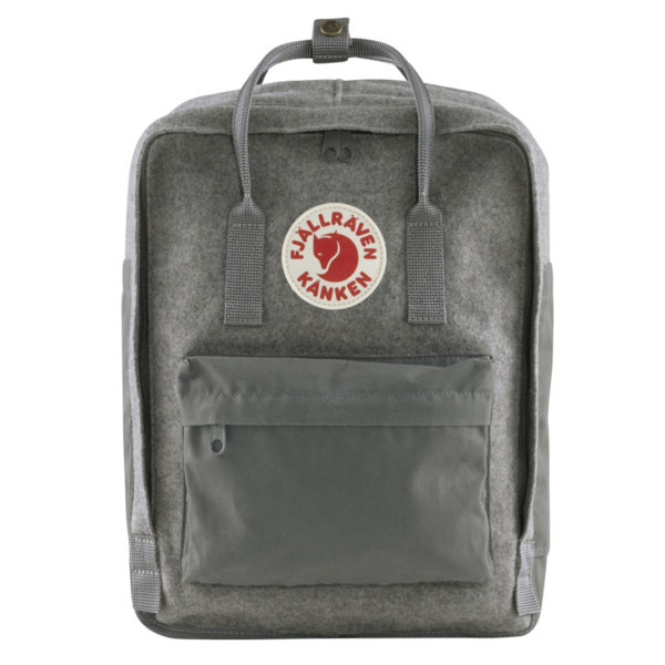 Fjallraven Kanken Re-Wool Granite Grey