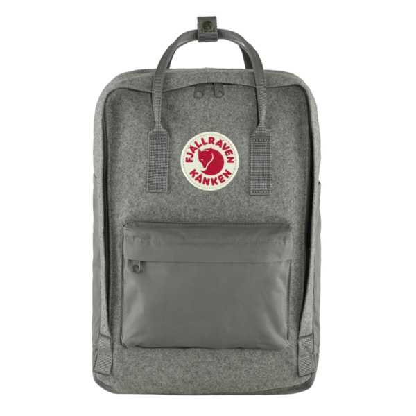 "Fjallraven Kanken Re-Wool Laptop 15"" Granite Grey"