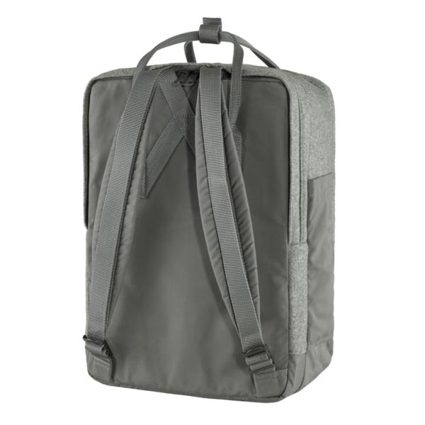"""Fjallraven Kanken Re-Wool Laptop 15"""" Granite Grey"""