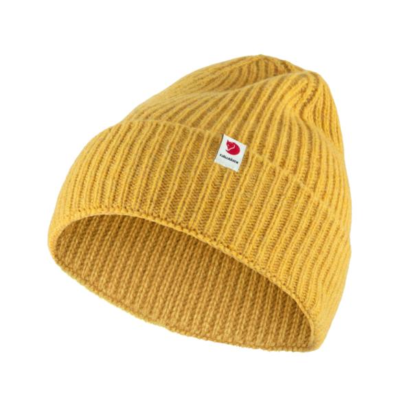 Fjallraven Logo Tab Hat Mustard Yellow