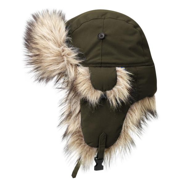 Fjallraven Nordic Heater Hat Dark Olive