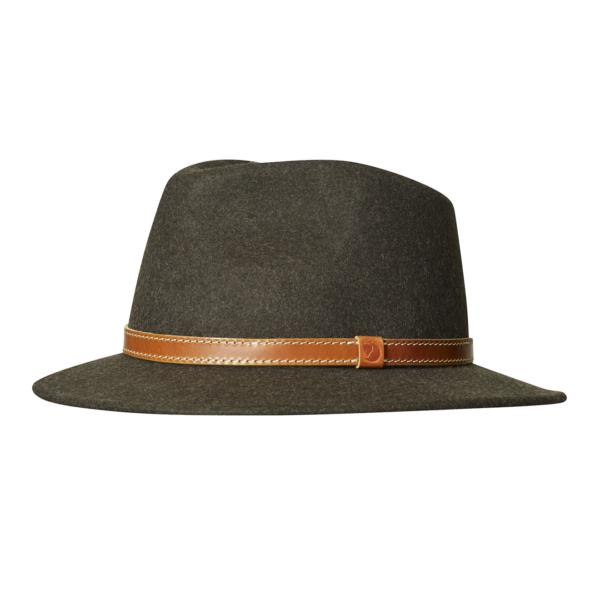 Fjallraven Sormland Felt Hat Dark Olive