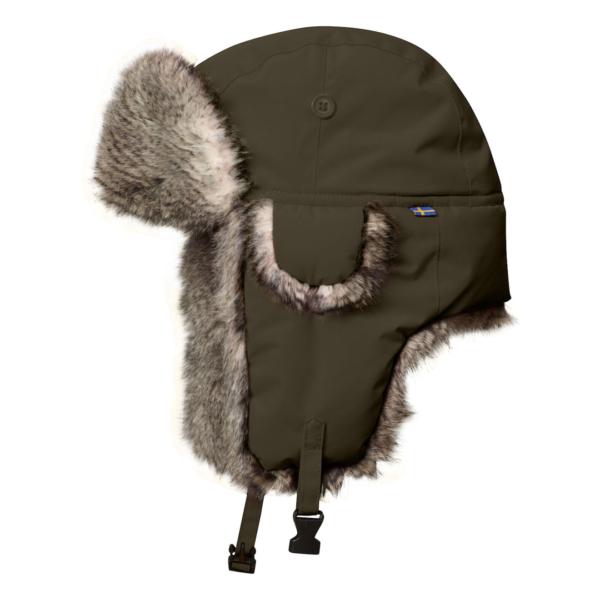 Fjallraven Varmland Heater Hat Dark Olive