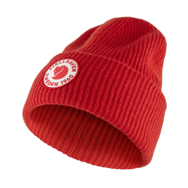 Fjallraven 1960 Logo Hat True Red