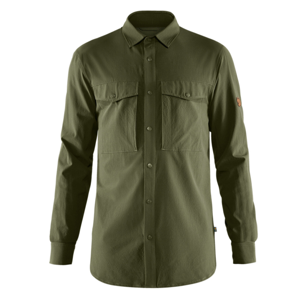 Fjallraven Abisko Trekking Shirt Laurel Green