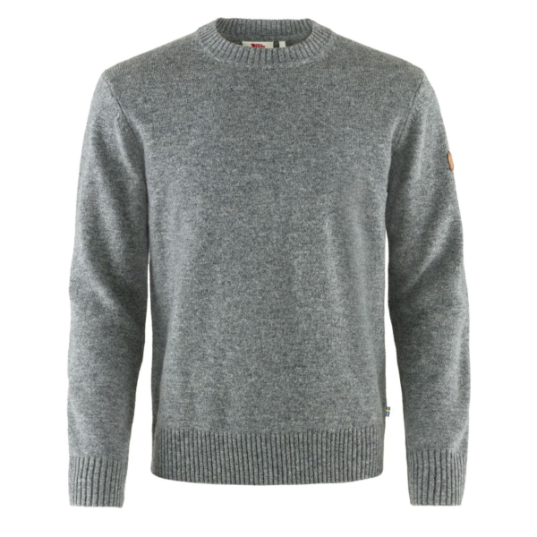 Fjallraven Ovik Round Neck Sweater Grey