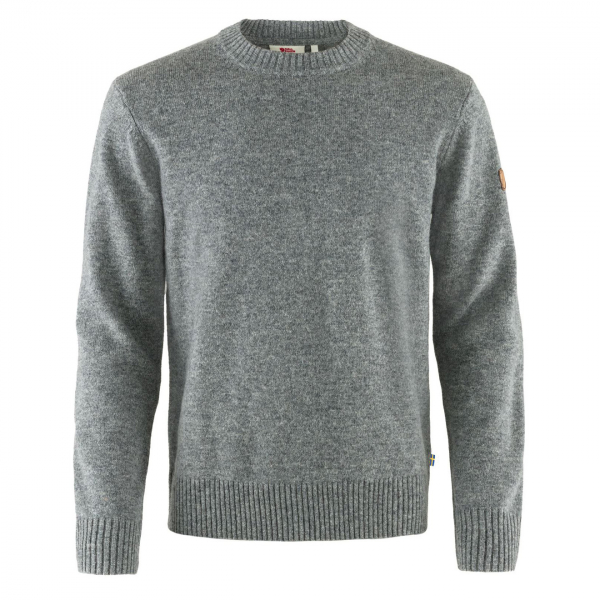 Fjallraven Ovik Round Neck Sweater Grey