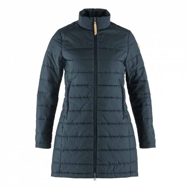 Fjallraven Womens Kiruna Liner Parka Night Sky