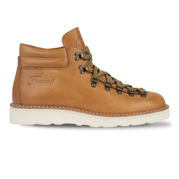 Fracap M127 Double Collar Boot Tan