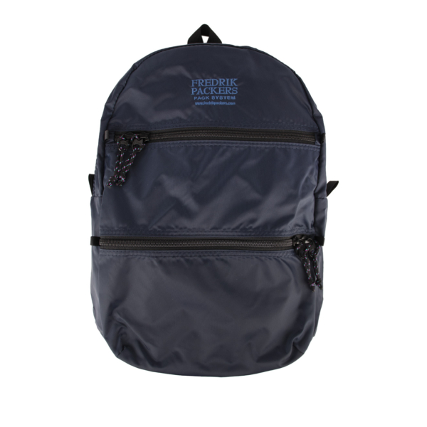 Fredrik Packers Double Zip Backpack Navy