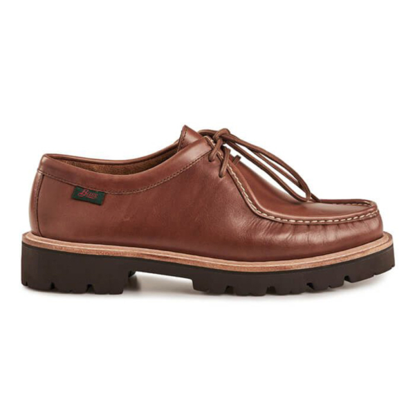 G H Bass Wallace Moc Shoe Brown