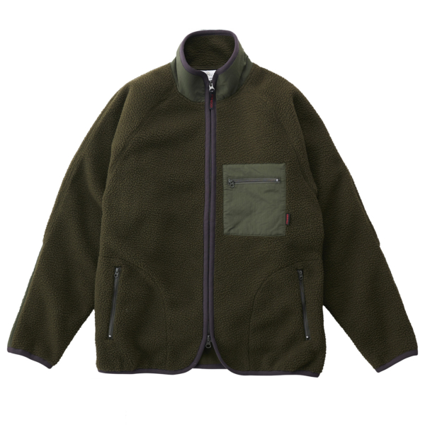 Gramicci Boa Fleece Jacket Olive
