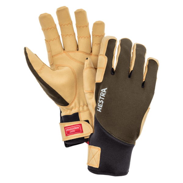 Hestra Ergo Grip Tactility Gloves Dark Forest