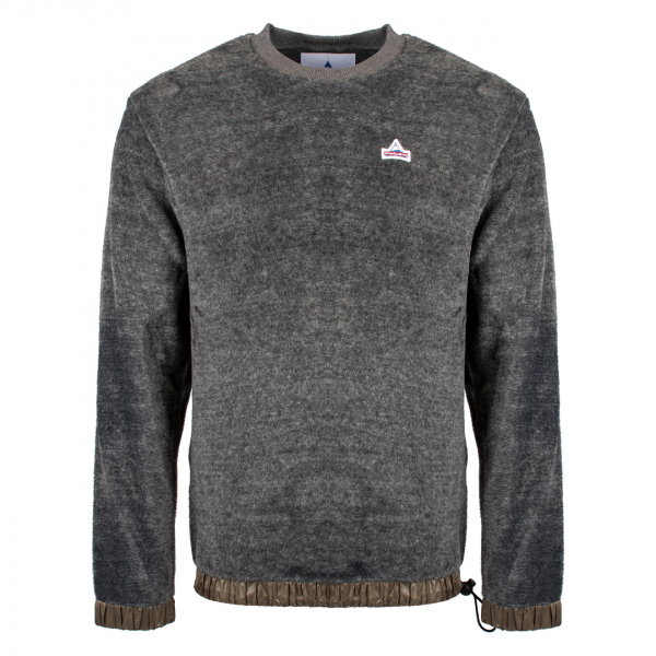 HOLUBAR POLAR CREW NECK FLEECE GREY