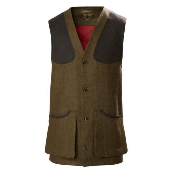 Musto Stretch Tech Goretex Tweed Waistcoat Dunmhor
