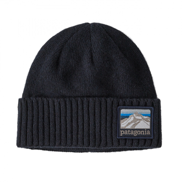Patagonia Brodeo Beanie Hat Line Logo Classic Navy
