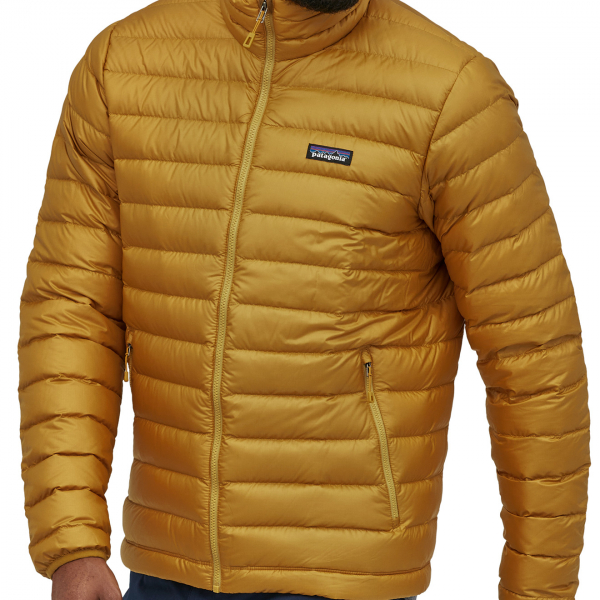 Patagonia Down Sweater Jacket Buckwheat Gold
