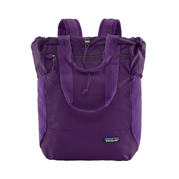 Patagonia Ultralight Black Hole Tote Pack Purple