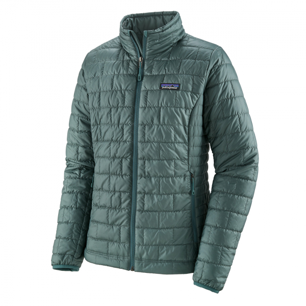 Patagonia Womens Nano Puff Jacket Regan Green