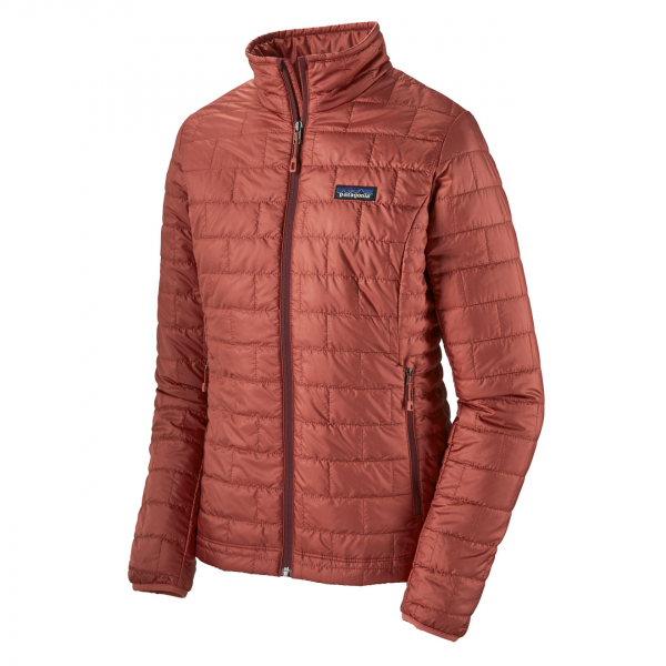 Patagonia Womens Nano Puff Jacket Spanish Red