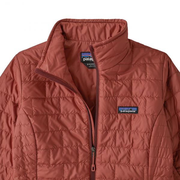 Patagonia Womens Nano Puff Jacket Spanish Red