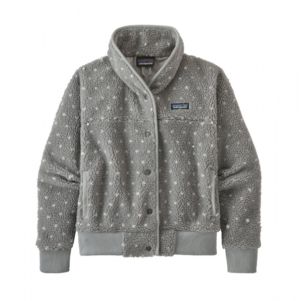 Patagonia Womens Snap Front Retro-X Jacket Salt Grey