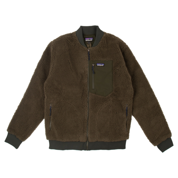 Patagonia Retro-X Bomber Fleece Jacket Basin Green