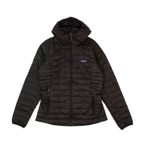 Patagonia Womens Nano Puff Hoody Jacket Black