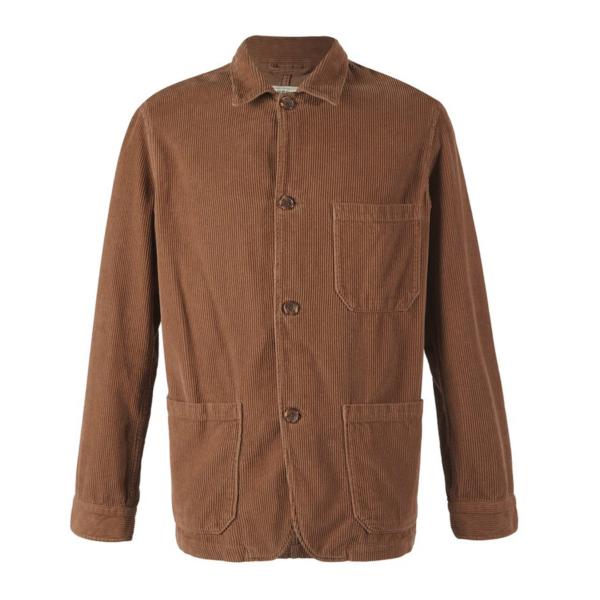 Portuguese Flannel Labura Corduroy Jacket Brown
