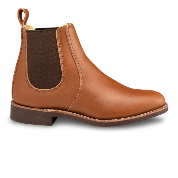 Red Wing Womens 6-inch Chelsea Boot Tan Boundary