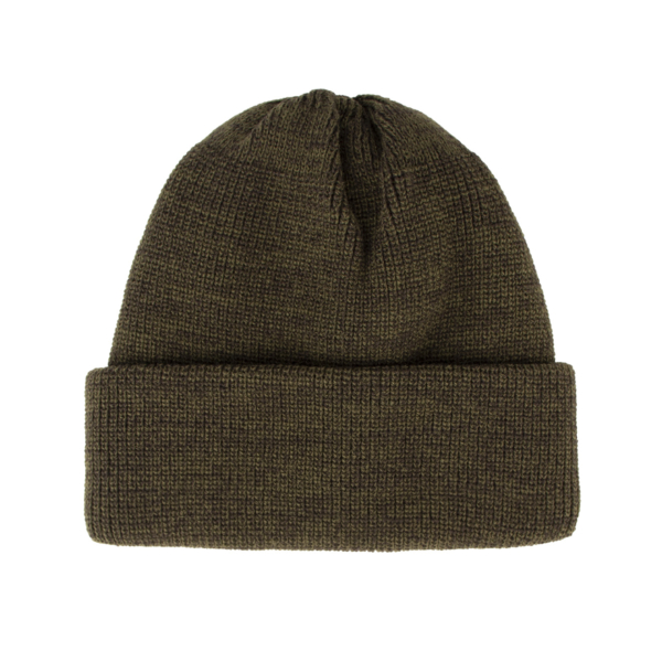 RoToTo Bulky Watch Cap Beanie Olive / Charcoal