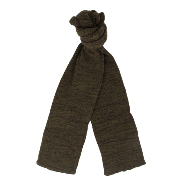 RoToTo Stole Scarf Olive / Charcoal