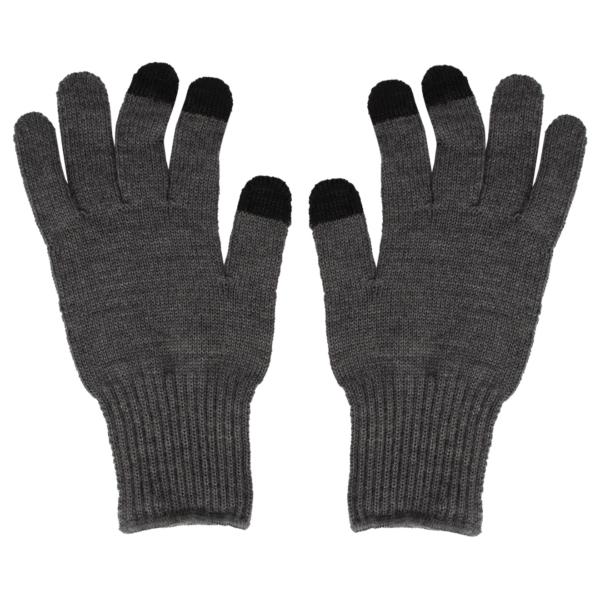 RoToTo Touch Screen Merino Glove Dark Gray