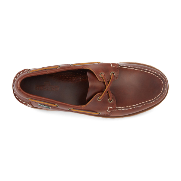 Sebago Ranger Waxy Boat Shoe Brown Gum