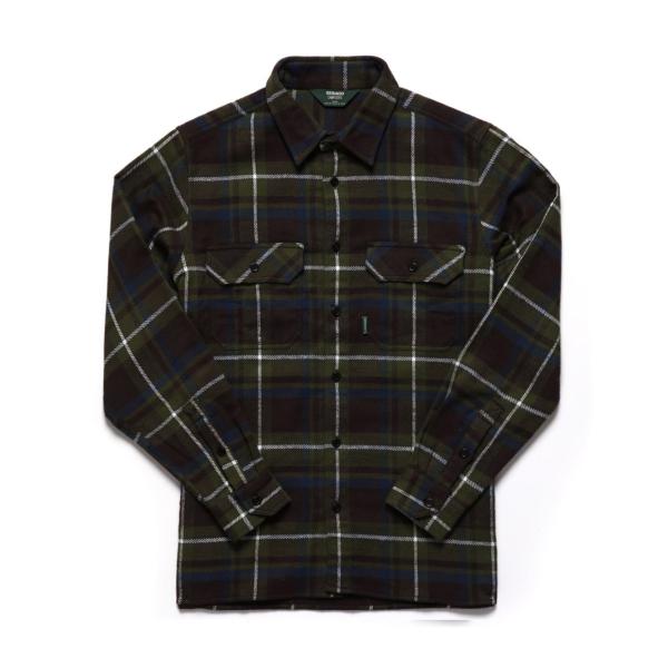 Sebago Swan L/S Check Shirt Check Green