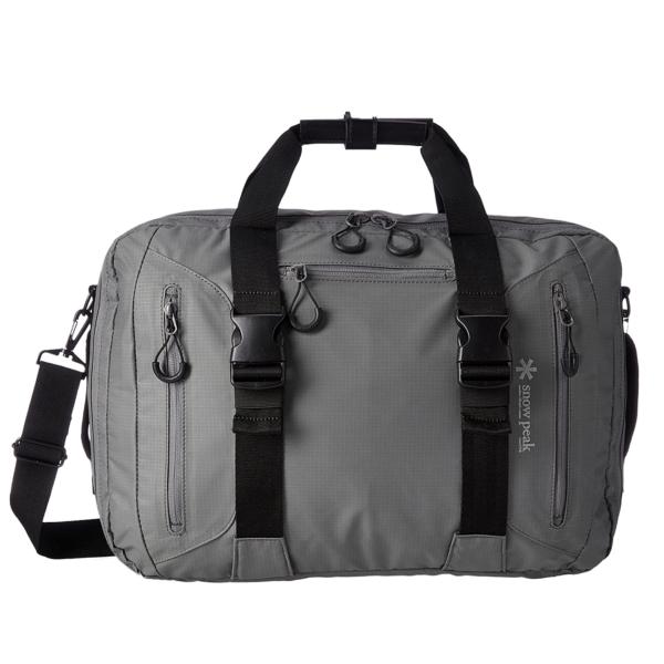 Snow Peak 3-Way Business Bag Grey