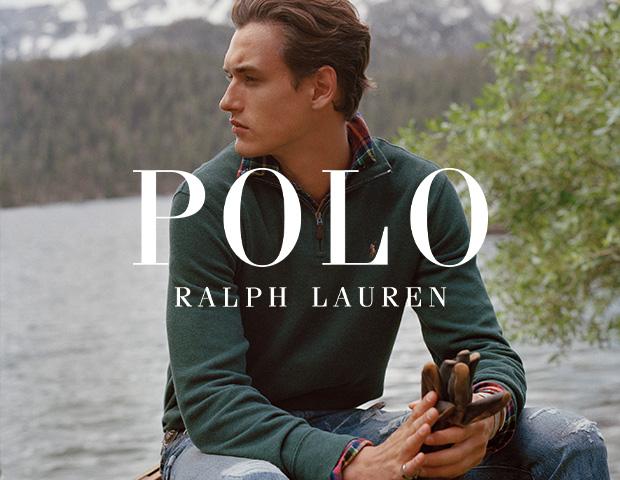 Man Wearing Polo Ralph Lauren Quarter Zip and Shirt