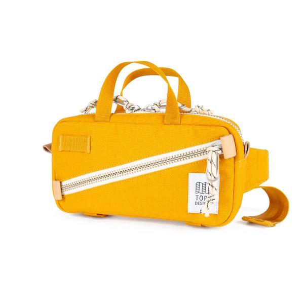 Topo Designs Mini Quick Pack Yellow Canvas