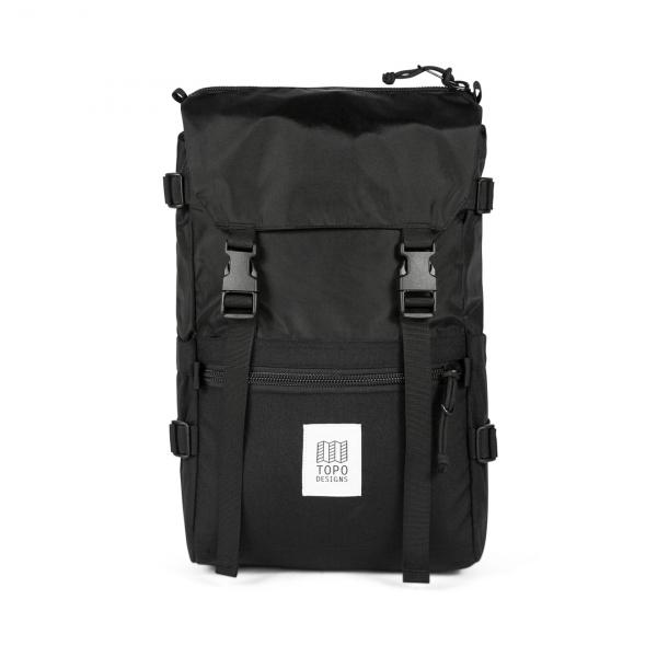 Topo Designs Rover Pack Backpack Black / Black