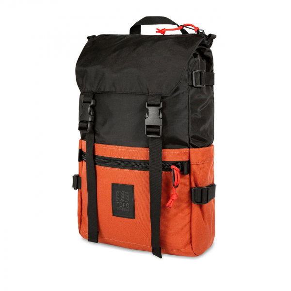 Topo Designs Rover Pack Backpack Black / Clay