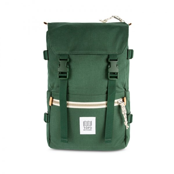 Topo Designs Rover Pack Backpack Forest Canvas