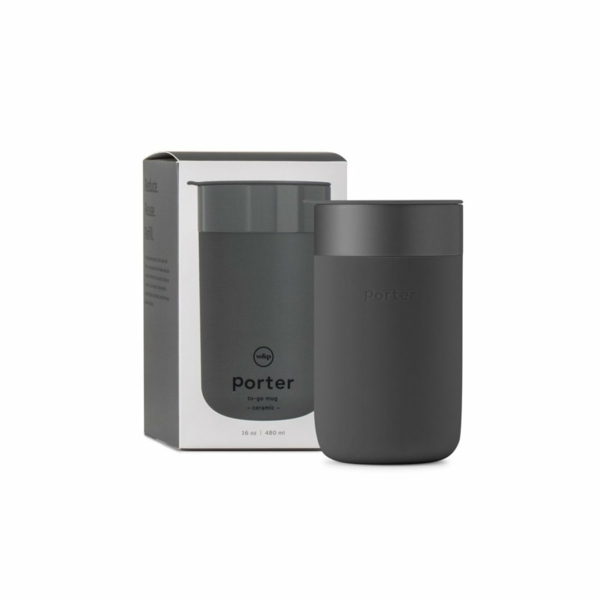 W&P Design Porter Large Mug Charcoal