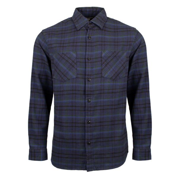 Woolrich Classic Flannel L/S Shirt Blue Hunting